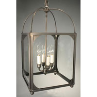 Northeast Lantern Signature 4 Light Chandelier in Dark Brass 6832R-DB-LT4-CLR